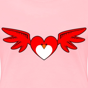 Heart Bird - Women's Premium T-Shirt