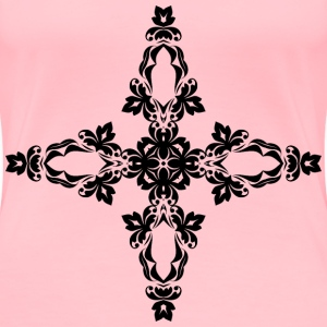 Ornamental Cross 2 - Women's Premium T-Shirt