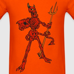 Demon Skeleton - Men's T-Shirt
