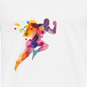 For Runners T-shirts - T-shirt premium pour hommes