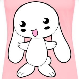 Cute Cartoon Bunny - Women's Premium T-Shirt