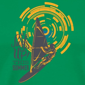 Surf is Up This Summer - Men's Premium T-Shirt