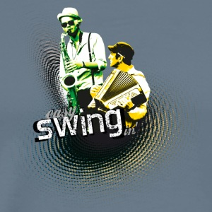 swing04 - Men's Premium T-Shirt