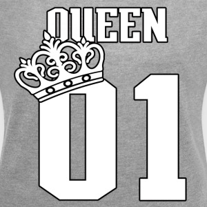 queen #1 - Women´s Roll Cuff T-Shirt