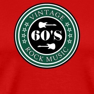 Vintage 60's Rock Music - Men's Premium T-Shirt