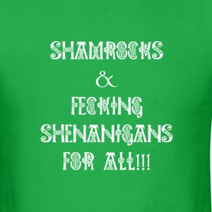 Shamrocks and Shenanigans St Patrick's Day  - Men's T-Shirt