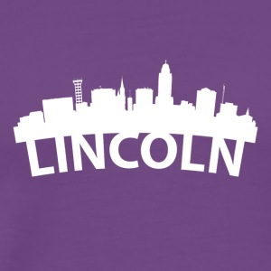 Arc Skyline Of Lincoln NE - Men's Premium T-Shirt