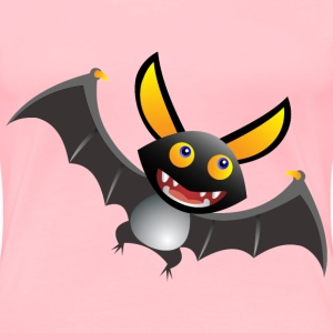 Cute Cartoon Bat - Women's Premium T-Shirt