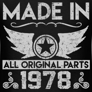 made in 1978 22.png T-Shirts - Men's T-Shirt