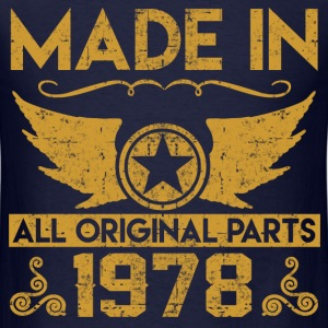made in 1978 33.png T-Shirts - Men's T-Shirt