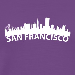Arc Skyline Of San Francisco CA - Men's Premium T-Shirt