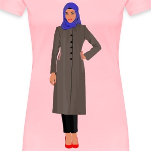 Muslim Woman - Women's Premium T-Shirt