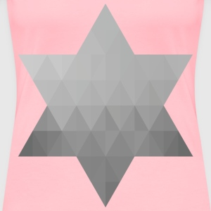 Geometric Star VII - Women's Premium T-Shirt