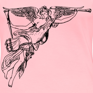 Winged herald - Women's Premium T-Shirt