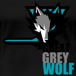Great Grey Wolf T-Shirts - Women's Premium T-Shirt