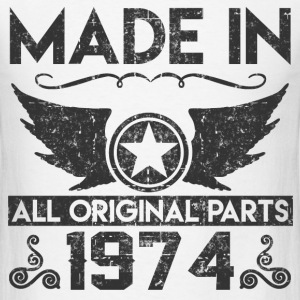 made in 1974 11.png T-Shirts - Men's T-Shirt