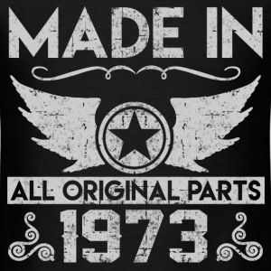 made in 1973 22.png T-Shirts - Men's T-Shirt