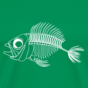 Dead fish Bones - Men's Premium T-Shirt
