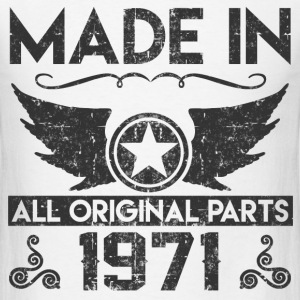 mad ein 1971 11.png T-Shirts - Men's T-Shirt