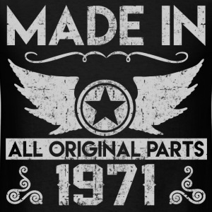 made in 1971 22.png T-Shirts - Men's T-Shirt