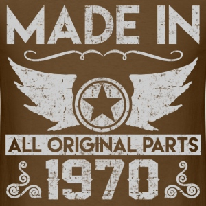 MADE IN 1970 ALL ORIGINAL PARTS, 1970, MADE IN, AL - Men's T-Shirt