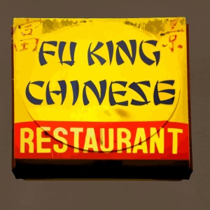 Fu King Chinese Restaurant - Men's Premium T-Shirt