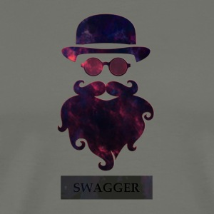 SWAGGER- Beard Swagg - Men's Premium T-Shirt