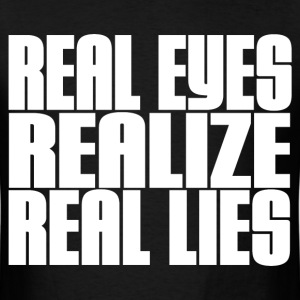 REAL LIES T-Shirts - Men's T-Shirt