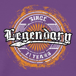 Legendary since 21 years t-shirt and hoodie - Men's Premium T-Shirt