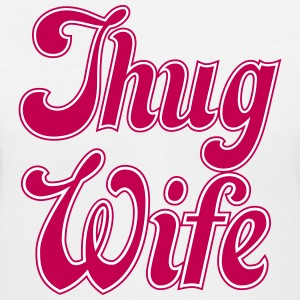 Thug Wife T-Shirts - Women's V-Neck T-Shirt