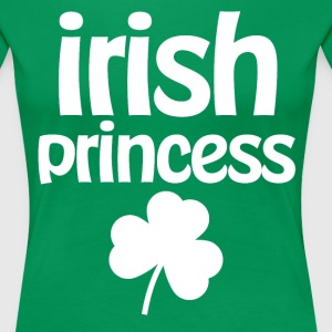 Irish Princess With Shamrock - Women's Premium T-Shirt