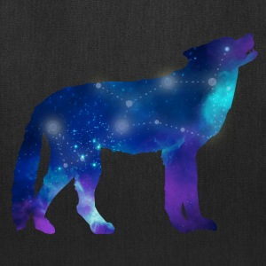 Wolf Lupus Constellation Astrology Bags & backpacks - Tote Bag