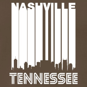 Retro Nashville Skyline - Men's Premium T-Shirt