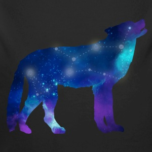 Wolf Lupus Constellation Astrology Baby Bodysuits - Long Sleeve Baby Bodysuit