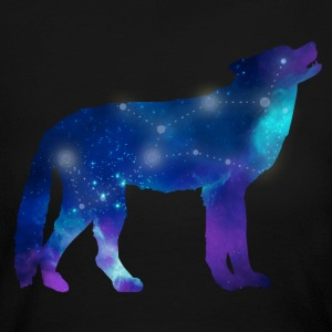 Wolf Lupus Constellation Astrology Long Sleeve Shirts - Women's Long Sleeve Jersey T-Shirt
