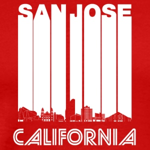 Retro San Jose California Skyline - Men's Premium T-Shirt
