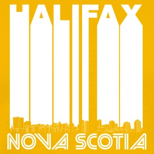 Retro Halifax Nova Scotia Canada Skyline - Men's Premium T-Shirt