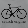 search_engine - Men's T-Shirt by American Apparel