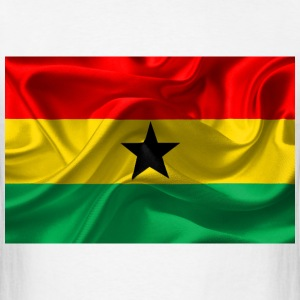 Ghana flag T-Shirts - Men's T-Shirt