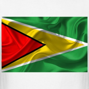 Guyana flag T-Shirts - Men's T-Shirt