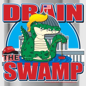 Drain The Swamp - Water Bottle
