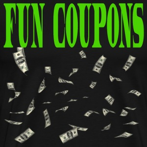 Fun Coupons - Wolf Of Wall Street T-Shirts - Men's Premium T-Shirt