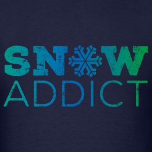Snow Addict T-Shirt - Men's T-Shirt