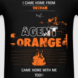 Agent Orange  - I came home from Vietnam, but... A - Men's T-Shirt