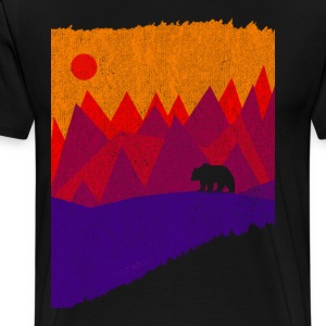 Hear the mountains' call - Men's Premium T-Shirt