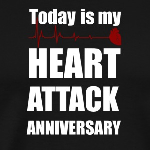 Heart attack anniversary - Men's Premium T-Shirt
