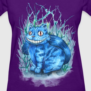 Wonderland Cheshire Cat T-Shirts - Women's T-Shirt
