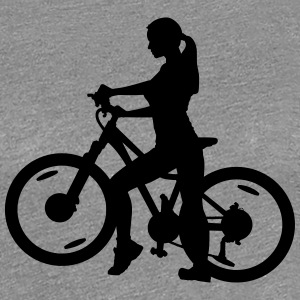 Bicycle T-Shirts - Women's Premium T-Shirt
