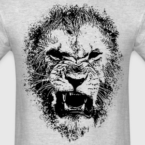 Lion Face Drawing T-Shirts - Men's T-Shirt