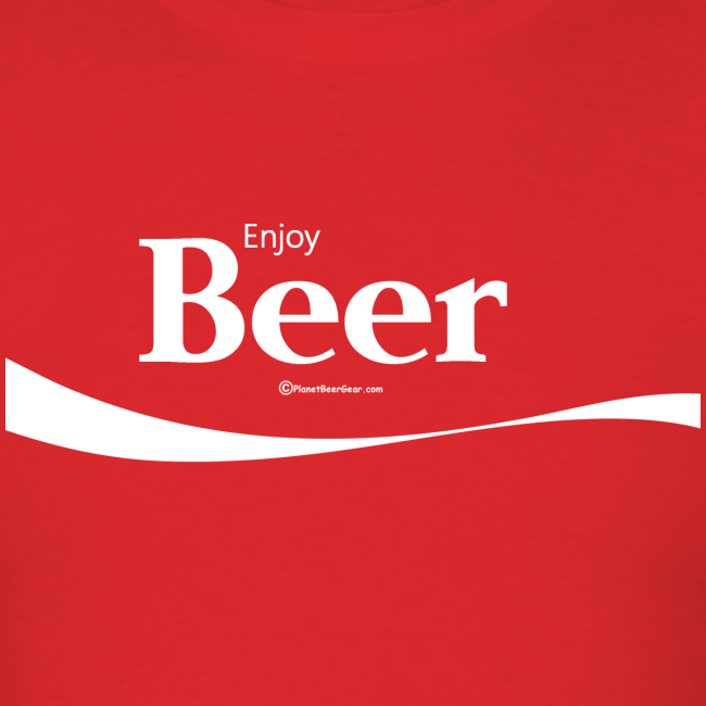 Enjoy Beer Men's T-Shirt